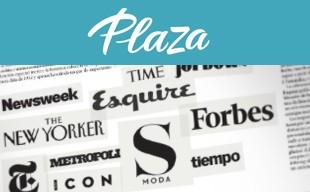 Revista Plaza diseño portada