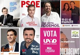 Campaña electoral elecciones generales España 2015 y el diseño