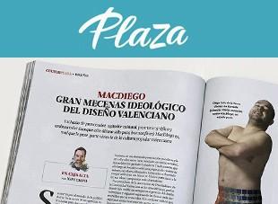 Valencia diseño revista Plaza MacDiego