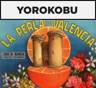 Gráfica marcas comerciales naranjas Valencia