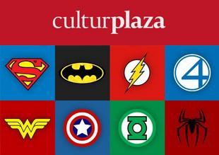 Logos de superheroes diseño branding