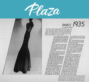 Un repaso al mundo de la moda desde el punto de vista tipográfico.