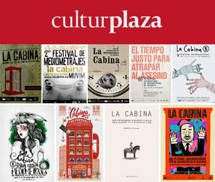 Diseño de carteles 9 años del Festival Internacional de Mediometrajes de Valencia
