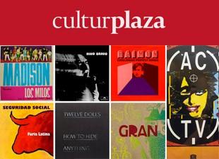 Un repaso a 50 años de portadas de discos de música valenciana.