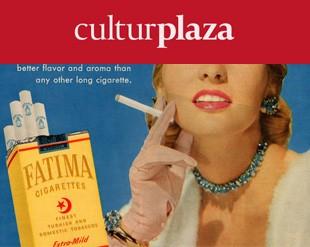 Clásico diseño de anuncio tabaco alcohol