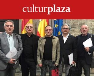 Manuel Lecuona, Vicent Martínez, Daniel Nebot, Xavier Giner y Nacho Lavernia.