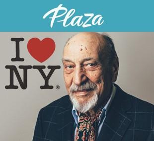 Milton Glaser en la revista Plaza, por Xavi Calvo