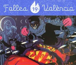 Falles de Valencia 2019 Segrelles per Xavi Calvo