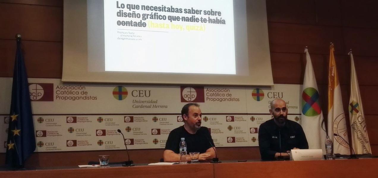 Conferencia sobre tendencias en diseño gráfico