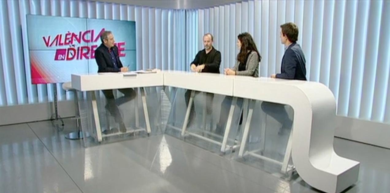 Levante TV tertulia cultural diseño