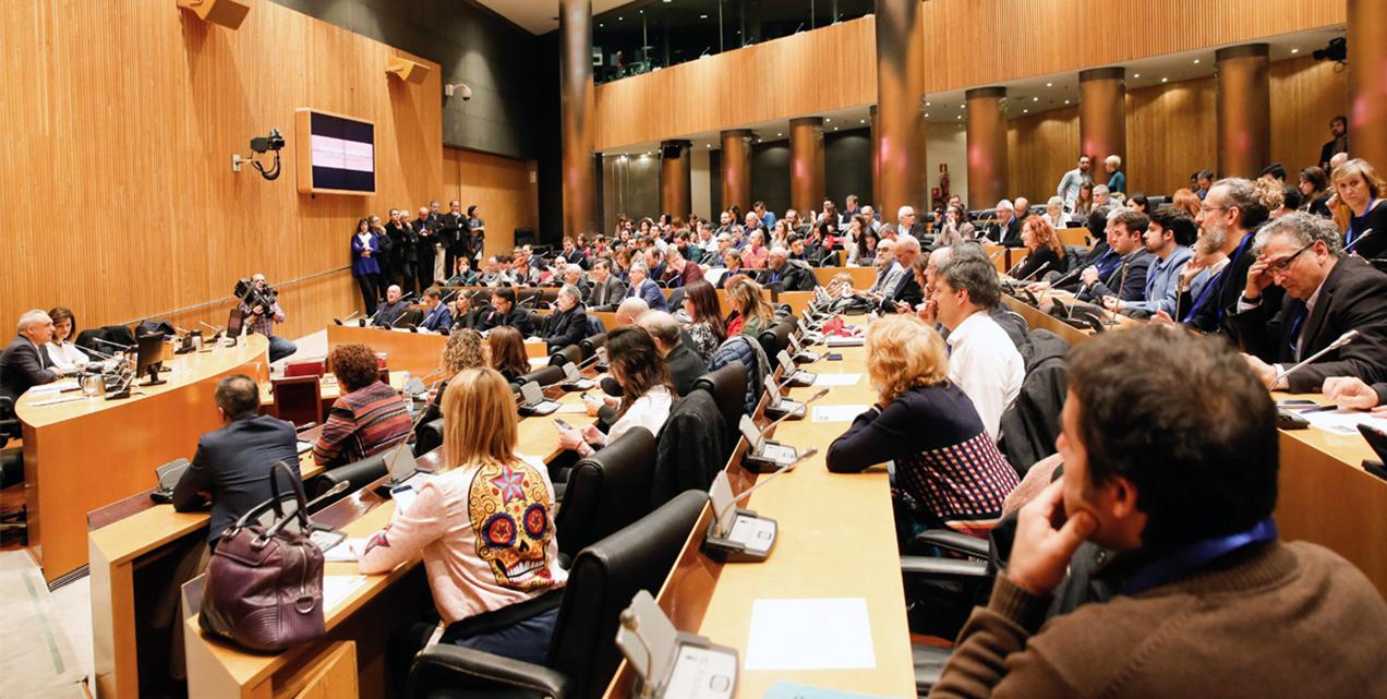 En el Congreso de los Diputados